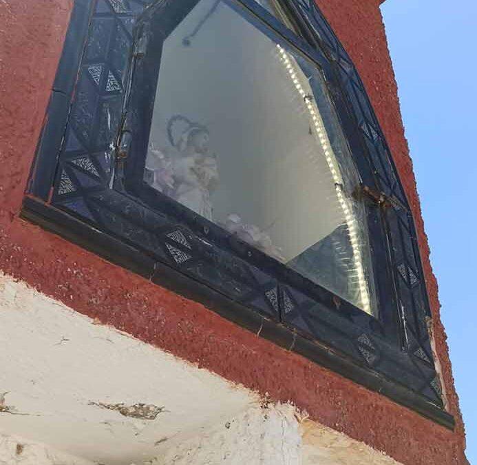 Iluminación Virgen Entrada La Dehesa